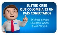 ¿CREE QUE COLOMBIA ES UN PAÍS CONECTADO?