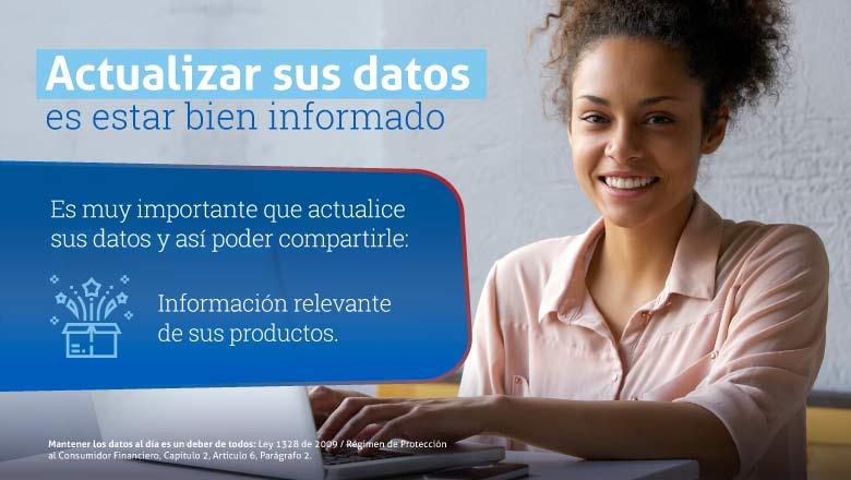 Actualizacion de datos